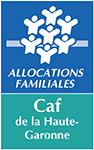 Logo Caisse d'allocations familiales de la Haute-Garonne